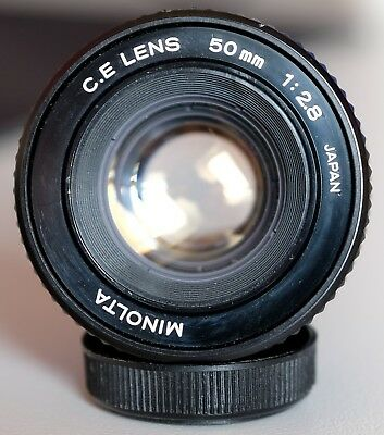 Minolta C.E. CE Lens 50mm F 2.8 Vergrößerungsobjektiv Enlarger lens JAPAN