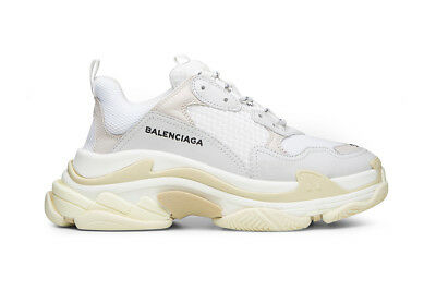 S Triple Men Speed Cream Trainer Grey White Sneakers Balenciaga agPqTP