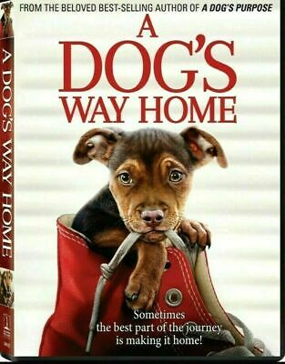A Dog's Way Home DVD with Special Features Brand New&Sealed Quick Fast Delivery