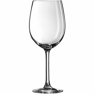 Arcoroc Excalibur Fully Tempered Breeze Wine Glass, 11 3/4 Ounce - 48 per case