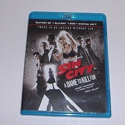 Frank Millers Sin City: A Dame to Kill For (Blu-ray 3D+ Blu-Ray)
