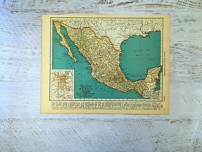 ANTIQUE MAP Of COLOMBIA Map South America Map Gallery Wall Art - Framing a map print