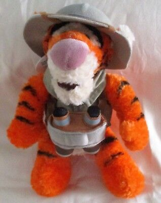Disney's Tigger Happy Camper With Hat And Thermos, Stuffed Toy, Child, Gift