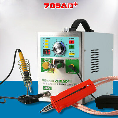 709AD+ 18650 Battery Welding Soldering Machine Pulse Spot Welder +71B Welding P