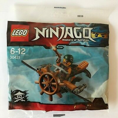 Sky Pirate LEGO Ninjago 30421 Skybound Plane