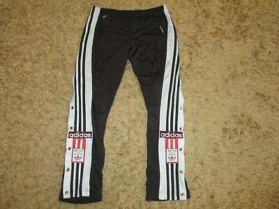 ADIDAS trousers bottoms 164 hose oldschool poppers pants shorts vintage retro 90