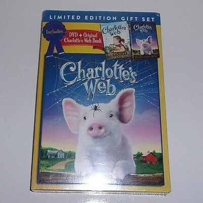Charlotte's Web DVD + Original Charlotte's Web Book Limited Edition Gift Set