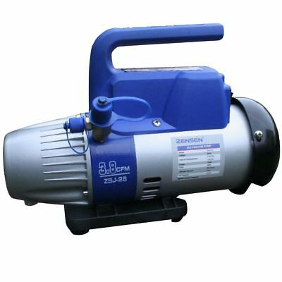 Rotary Vane Vacuum Pump, Single Stage, 240v, 6pa