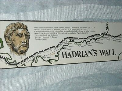 Hadrian's Wall Collectible Matches Matchbook Rome