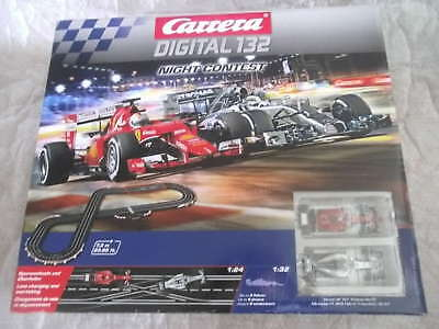 Carrera Digital 132 Night Contest Set / Startpackung 30189 NEU in OVP