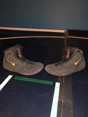 finest selection f3a43 73fb9 RARE OG Nike Inflicts Wrestling Shoes Size 9.5 8.5 10 condition.