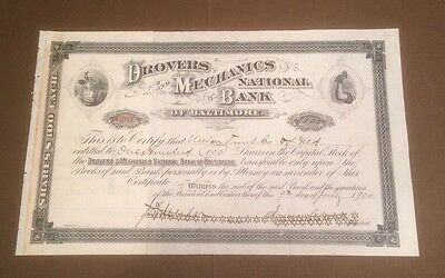 Drovers and Mechanics National Bank of Baltimore Diverse 1900/01