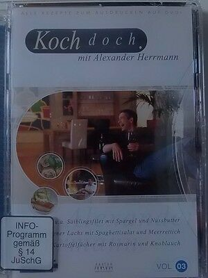 Alexander Herrmann - Koch doch Vol. 3 - DVD Video neu