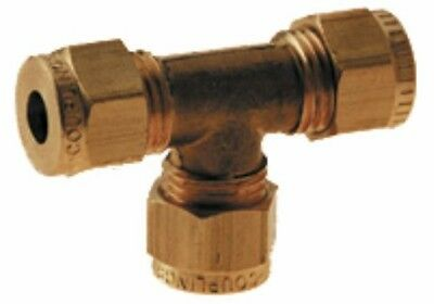 Wade Brass Compression Fitting – Imperial Tee Coupling