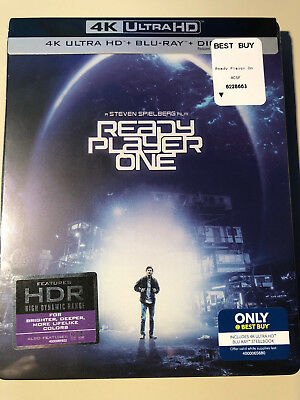 Ready Player One 4K/UHD Best Buy Exclusive (4K Ultra HD + Blu-ray + Digital)