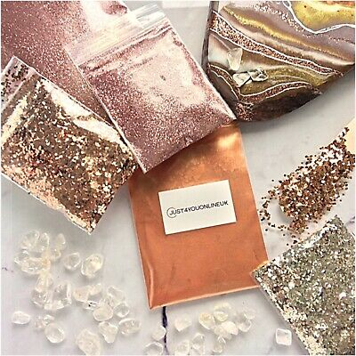 Glitter Nail Art Resin Craft Wine Glass Paint Fine Ultra Pigment Bags 100g Bulk