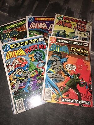 The Brave and the Bold 145, 148, 149, 152 & 153, DC Comics, 1978/79 (VF)
