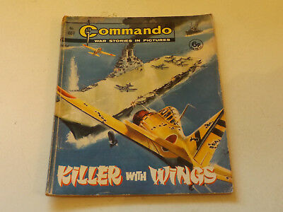 Commando War Comic Number 607!!,1971 Issue,good For Age,47 Years Old,v Rare.
