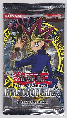 Yu-Gi-Oh Invasion of Chaos Booster OVP/Sealed english