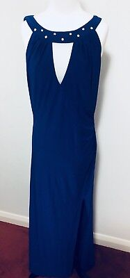 Royal Blue Evening Gown Size 14 EUC *Buy 5 Items Get FREE POSTAGE