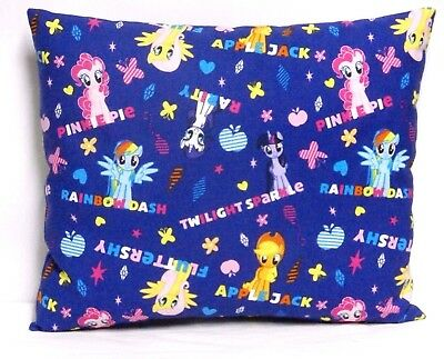 My Little Pony Toddler Pillow on Purple 100%Cotton MLP11-5 New Handmade