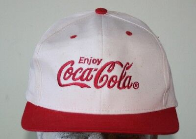 VINTAGE RED COCA Cola Coke Painters Hat Old (New Without Tags ... 9e48dfe50521