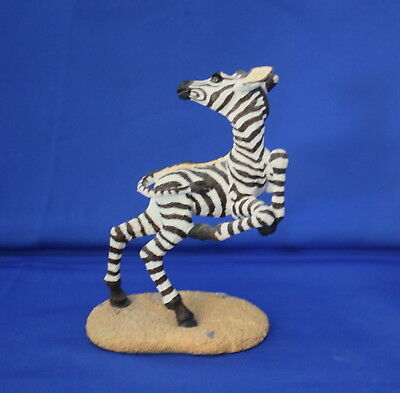 """The Herd Collection """"whirligig The Zebra"""" Figurine By Martha Carey"""