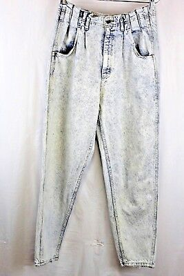 Lee mom jeans high waist womens acid wash 80s jeans waist shaping tapered legs