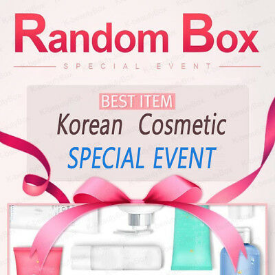 Best Korean cosmetic samples RANDOM BOX Special Event Moisturizing Anti-Aging
