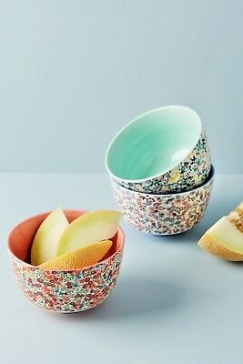 NWT Anthropologie Liberty London Bowl- Blue, Red, or Green