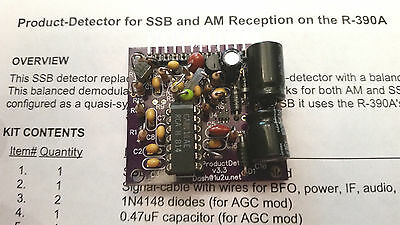 SSB Product-Detector Adapter for R-390A Receiver