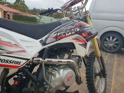 2015 CF140 Crossfire dirt bike, as new condition, only 8 hours of use!