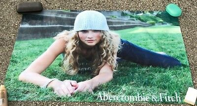 Abercrombie poster Taylor Swift banner jeans hat sign