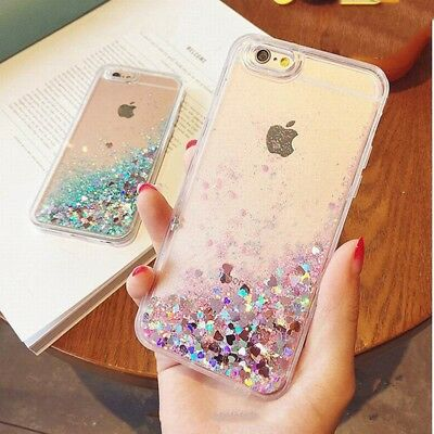 Luxury Women Bling Sparkly Glitter Phone Case Cover For iPhone 6 8 7 Plus Xs Max