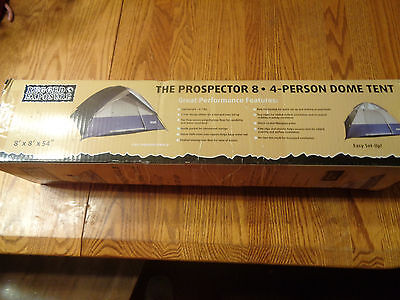 Rugged Exposure Prospector 8 4 Person Tent
