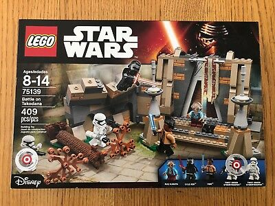 NIB Lego Star Wars Battle of Takodana (75139) *RETIRED*