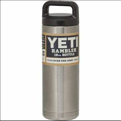 YETI Rambler 18 oz Bottle stainless steel double wall Insulated Vacuum Thermos