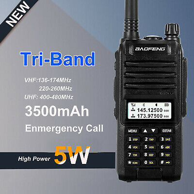 Waterproof IP67 Baofeng A58S 10W Walkie Talkie Dual Band 128CH Two Way Radio VOX