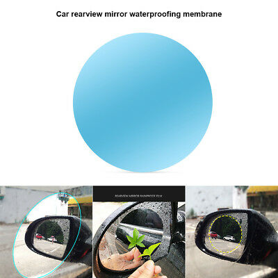 1 Pair Car Rearview Mirror Anti Water Film Anti Fog Rainproof Protective Films