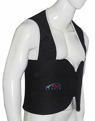 Go Kart karting Rib protector indoor outdoor racing events All Adult sizes Black