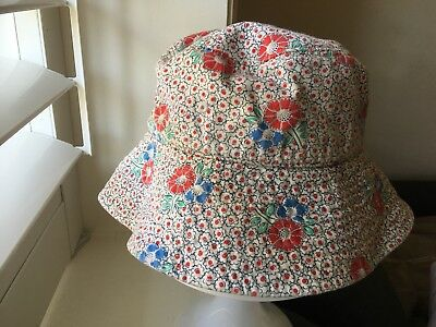 Girls Country Road Sun Bucket Hat Size S