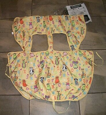 402  Avon Tiny Tillia Child/ Infant Grocery Shopping Cart Seat Cover  90347