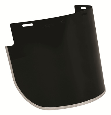 3M POLYCARBONATE VISOR 400x200mm Shade-5 High Impact, Heat & Chemical Resistant