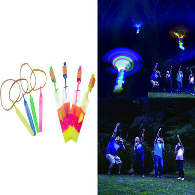 2*LED Light Up Flashing Glow Flying Dragonfly For Party Toys Kids Gifts