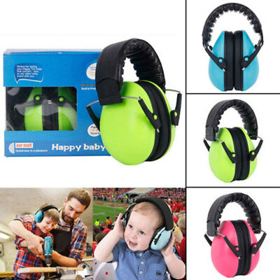 Kids Childs Baby Ear Muff Defenders Noise Reduction Comfort Protection Hot New