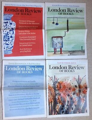 Four 2012 Issues Of The London Review Of Books: Vol 34