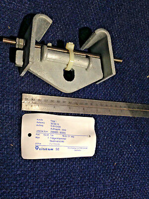 Lisega Beam Clamps - Type 782111 HD. Made in Germany