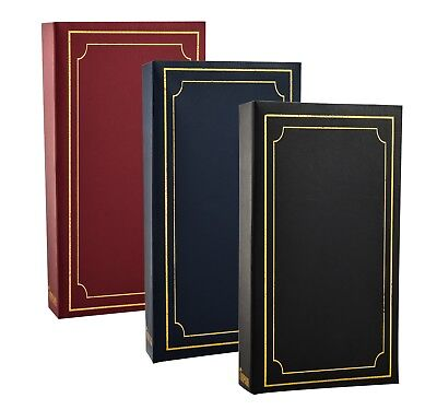 Padded 4x6 Photo Album for 300 Photos with CD/DVD Pocket, Protective jacket