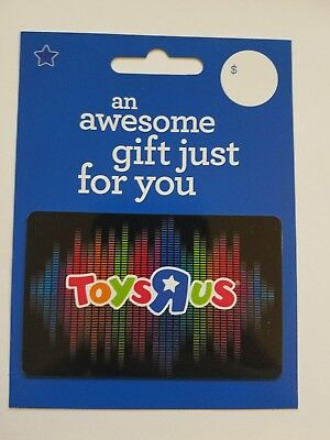 Toys R Us Gift Card Logo Unique Collectible Memorabilia Blue New Souvenir