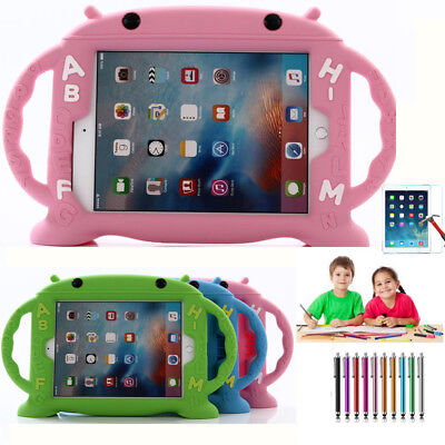 Tough Kids Children Stand Shockproof Foam Case Cover For Apple iPad Samsung Tabs